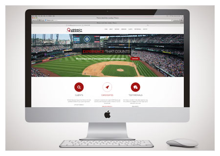 legacy sports website design